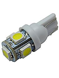 economico -70-90 lm T10 Luci da arredo 5 leds SMD 5050 Luce fredda DC 12V