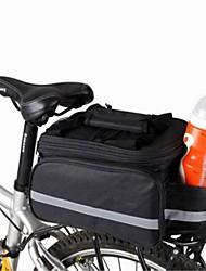 Bike Bag 8LShoulder Bag Panniers & Rack Trunk Bike Trunk Bags Compact Multifunctional Bicycle Bag Canvas Cycle BagCamping & Hiking