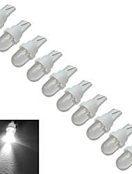 abordables -0.5W 30-50 lm T10 Lampe de Décoration 1 diodes électroluminescentes Blanc Froid DC 12V