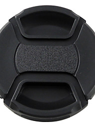 MENGS® 62mm Snap-On Lens Cap Cover With String / Leash For Nikon Canon And Sony