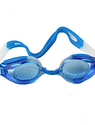 cheap -Blue Swimming Glasses Silica Gel To Prevent The Mist Water Send Earplugs