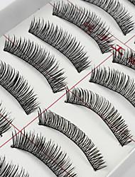 abordables -Herramientas de Maquillaje Pestañas Postizas Maquillaje Pestaña Clásico Diario Maquillaje de Diario Cosmético Útiles de Aseo