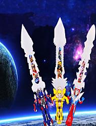 Новинка пластиковые меч игрушка со вспышкой и музыки (случайный цвет)