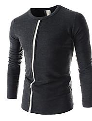 Langarm - MEN - T-Shirts ( Baumwolle )