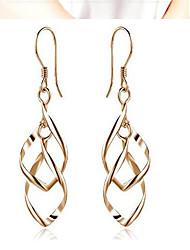 cheap -Women's Drop Earrings - Fashion Gold For