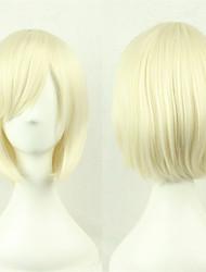abordables -cosplay perruque / nouvelle / animé cos perruques de cheveux à la crème