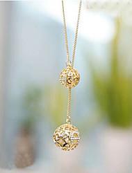 billige -Dame Syntetisk Diamant Halskædevedhæng - Simuleret diamant Skærmfarve Halskæder Til