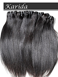 cheap -3 psc/Lot Indian Hair unprocessed virgin indian remy hair, Karida Hair Unprocessed Top Quality Indian Hair