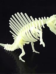 Недорогие -Пазлы 3D пазлы Строительные блоки DIY игрушки Динозавр ABS Со стразами Модели и конструкторы