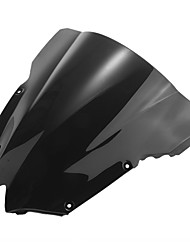 cheap -Motorcycle Windshield Wind Shield Screen Black for Yamaha R6 08-09