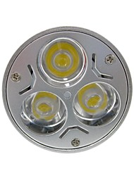 cheap -GU5.3(MR16) LED Spotlight MR16 3 High Power LED 400 lm Warm White Cold White K DC 12 AC 12 V