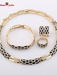 Colliers décoratifs/Boucles d'oreille/Bracelets/Anneaux ( Alliage/Strass ) Vintage/Soirée/Tous les jours pour Femme