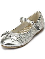 ДЕВУШКА - Обувь на плоской подошве (Розовый/Серебристый/Золотистый) - С круглым носком