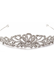 cheap -Rhinestone Alloy Tiaras 1 Wedding Special Occasion Birthday Party / Evening Headpiece