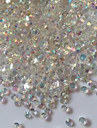 cheap -300PCS 3D Glitter AB Rhinestones Nail Art Decorations
