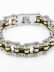 cheap -Chain Bracelet / Bracelet - Bike Unique Design, Vintage, Party Bracelet Silver For Christmas Gifts