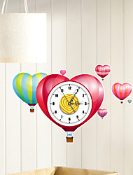 Modern/Contemporary Houses 3D Wall Clock lOVES Indoor Clock