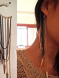 cheap -Women's Ear Cuffs Tassel Multi Layer European Punk Alloy Jewelry Party Daily Costume Jewelry