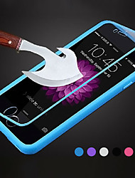 cheap -Case For iPhone 5 Apple iPhone 5 Case Flip Transparent Full Body Cases Solid Color Soft TPU for iPhone SE/5s iPhone 5