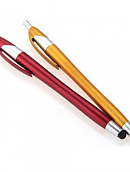billige -kinston® 2 x 2i1 kapacitiv touch screen stylus kuglepen med kuglepen til iPhone / iPod / iPad / Samsung og andre