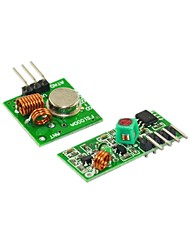 cheap -433M Super Regenerative Module Wireless Transmitting Module Mlarm Transmitter Receiver 1