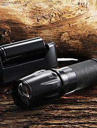 W-878 Torce a portachiavi LED 2200 Lumens 5 Modo Cree XM-L T6 Messa a fuoco regolabile Impugnatura antiscivolo Zoom disponibile per