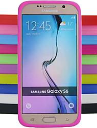 preiswerte -Hülle Für Samsung Galaxy Samsung Galaxy Hülle Stoßresistent Rückseite Solide Silikon für S6