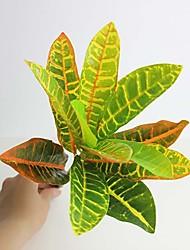 """1pc 13 """"de alta qualidade decora folha artificial folha colorida"""