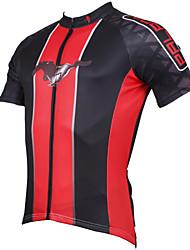 ILPALADINO 男性用 半袖 サイクリングジャージー - ホワイト ブラック レッド ブルー 1 # バイク ジャージー, 速乾性, 抗紫外線, 高通気性