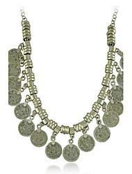 nova declaração de moeda gypsy vintage colar estilo feminino clássico