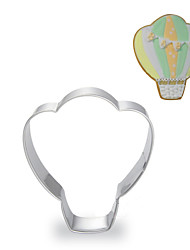 cheap -Hot-air Balloon Shape Cookie Cutters  Fruit Cut Molds Stainless Steel