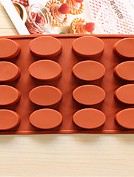 cheap -Bakeware Oval Baking Molds Chocolate Mold Cookies Mold Ice Mold