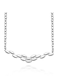 cheap -Women's Sterling Silver Zircon Silver Choker Necklace Chain Necklace Statement Necklace  -  Fashion White Necklace For Christmas Gifts