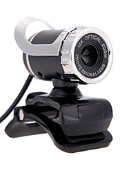 cheap -USB 2.0 12 M HD Camera Web Cam 360 Degree with MIC Clip-on for Desktop Skype Computer PC Laptop