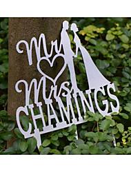 billige -Chrome 1 Etui Ceremoni Dekoration - Bryllupsfest Klassisk Tema