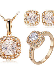 cheap -Women's Crystal Jewelry Set - Crystal, Cubic Zirconia, Imitation Diamond Classic Include For Wedding / Party / Daily