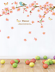 cheap -Wall Stickers Wall Decals Style Beautiful Peach Blossom PVC Wall Stickers