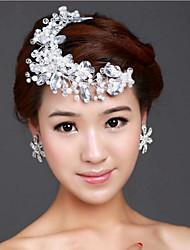 Недорогие -смола головные уборы головной убор свадебная вечеринка элегантный женственный стиль