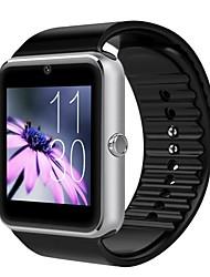 baratos -gt08 wearables inteligente relógio Bluetooth3.0 / mãos-livres chamadas / media controle control / câmera / rastreador de atividade / sleep