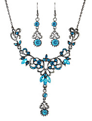 cheap -Women's Jewelry Set Earrings / Necklace - Yellow / Blue / Pink For Party / Daily / Casual