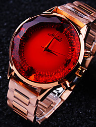cheap -Women's Wrist Watch Water Resistant / Water Proof Stainless Steel Band Sparkle / Fashion Rose Gold