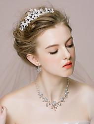 cheap -Women's Alloy/Rhinestone/Imitation Pearl Wedding/Party Jewelry Set