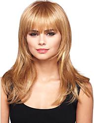 Недорогие -высокое качество шапки длинные волнистые моно топ девственница Remy человеческих волос парики 7 цветов на выбор