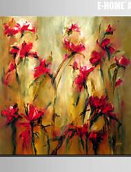 abordables -Reproduction transférée sur toile Art Floral lutte pour Eexistence