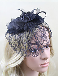 Net Fascinators Hats Headpiece Wedding Party Elegant Feminine Style
