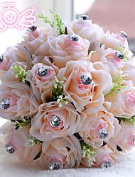 Beautiful European Style Fabric Wedding Bouquet Wedding Accessories