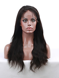 7A Grade 8''-24'' Natural Straight Remy Virgin Indian Human Hair Wigs Lace Front Wigs With Baby Hair For Black Women