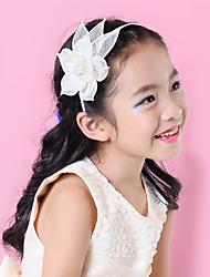 cheap -Children Sinamay Rhinestone Flower Headband Girls Fascinator (more colors)SFD2803