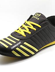 abordables -Zapatos de Hombre - Zapatos de Deporte - Deporte - Semicuero - Negro / Amarillo / Blanco