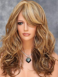 cheap -American And European Fashion Wig Shave Pear Volume Wigs Color Mix Color
